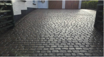 coach house paving Honiton